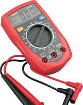 Для измерения Цифровой Мультиметр тестер UNI-T UT33B подсветка Постоянное напряжение Карманный мультиметр    , фото 3