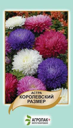 Семена Астра Королевский размер 0,5 г W.Legutko 5013, фото 2