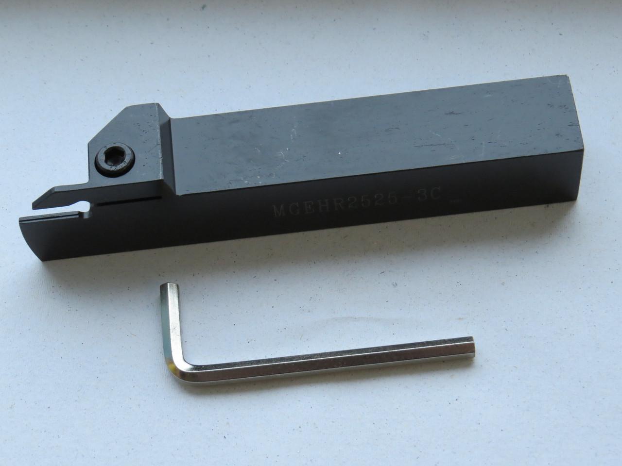Різець відрізний з хутро.кріпленням 25х25х150 MGEHR-3