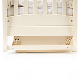 Кроватка Верес Соня ЛД15 маятник с ящиком (цвет: слоновая кость) ЕС (новый функционал), фото 4