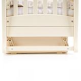 Кроватка Верес Соня ЛД15 маятник с ящиком (цвет: слоновая кость) ЕС (новый функционал), фото 5