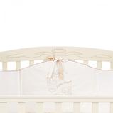 Кроватка Верес Соня ЛД15 маятник с ящиком (цвет: слоновая кость) ЕС (новый функционал), фото 7