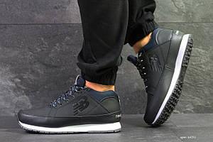 Мужские зимние кроссовки New Balance 754,темно синие