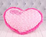 """Мягкая игрушка Подушка Сердце """"Ты+Я"""""""