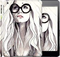 """Чехол на iPad 5 (Air) Девушка с обложки """"2870c-26"""""""