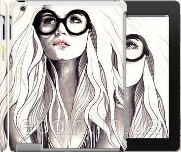 "Чехол на iPad 2/3/4 Девушка с обложки ""2870c-25"" - Интернет-магазин ""Ecopoint"" в Киеве"