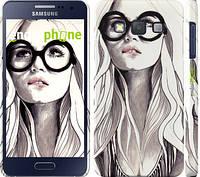 """Чехол на Samsung Galaxy A3 A300H Девушка с обложки """"2870c-72"""""""