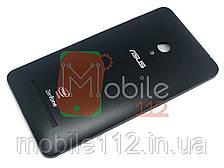 Задняя крышка Asus ZenFone 5 (A500CG 2014, A500KL 2014, A501CG 2015, t00j, t00f) черная