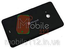 Задняя крышка Microsoft 535 Lumia Dual Sim (RM-1090) черная