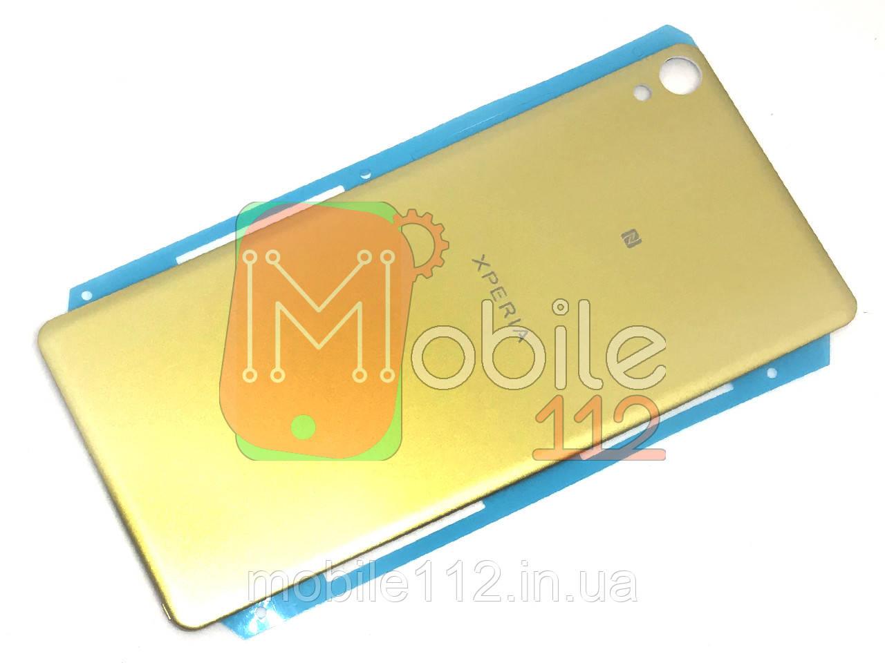Задняя крышка Sony Xperia XA F3111 F3112 F3113 золотистая