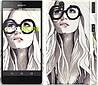 "Чехол на Sony Xperia Z C6602 Девушка с обложки ""2870c-40"""