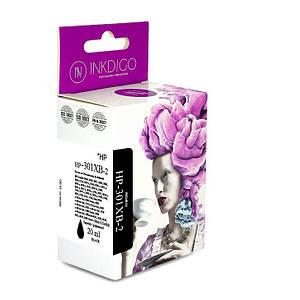 Совместимый картридж Inkdigo™ HP 301 XL Black (CH564EE), чернильный, чёрный, 15 ml, аналог CH561EE (CH561E)
