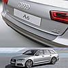 Пластикова захисна накладка на задній бампер для Audi A6 Avant 2014-2016