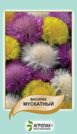 Волошка Мускатний суміш 0,5 г W. Legutko 5043, фото 2