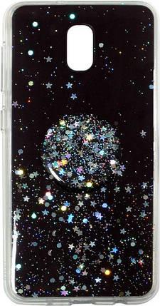 Накладка Xiaomi Redmi8A Shine Stars+ Popsocet, фото 2