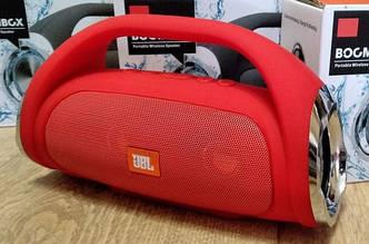 JBL Boombox mini E10 10w , портативная колонка с Bluetooth FM MP3, (красный цвет)