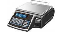 Весы с печатью этикетки Dibal M525F ALPHA 6/15KG