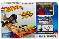 Трек Hot Wheels Ускоритель Rapid Launcher DWW94 Набор аксессуаров Хот Вилс Быстрый запуск для трека
