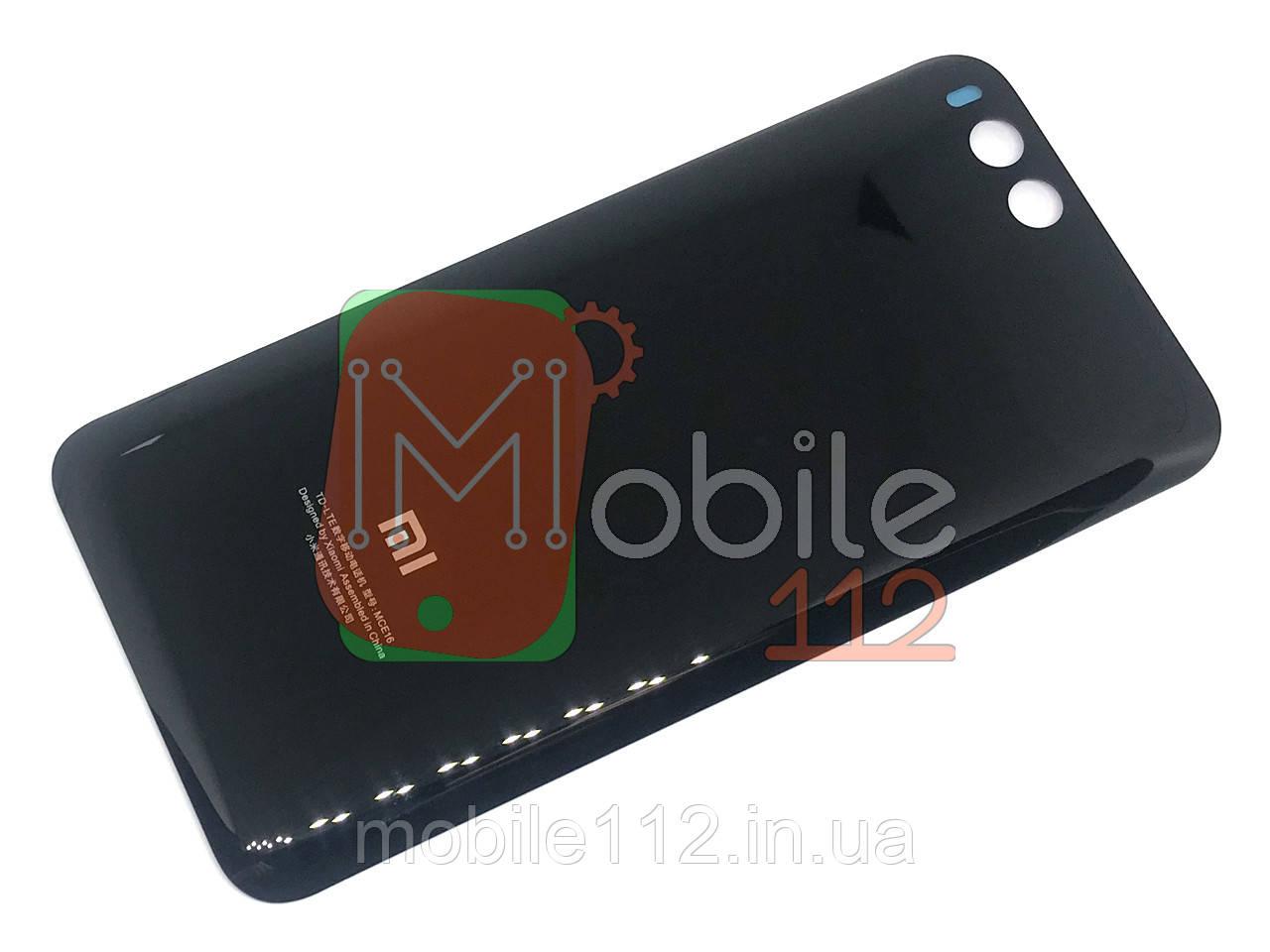Задняя крышка Xiaomi Mi6 MCE16 черный оригинал Китай