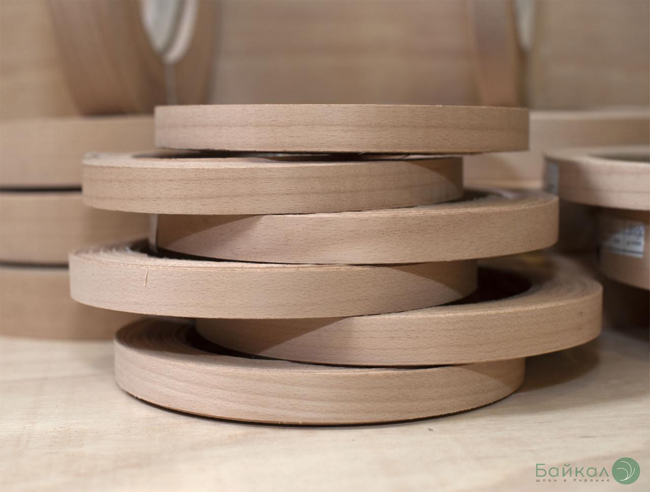 Кромка мебельная Бук(натуральный) - с клеем