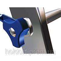 Лестница ELKOP VHR PROFI 3X16 Алюминиевая, 3 СЕКЦИИ, 16 СТУПЕНЕЙ, Словакия, фото 3