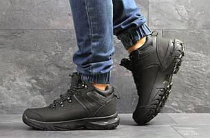 Мужские высокие зимние кроссовки Ecco Biom, черные