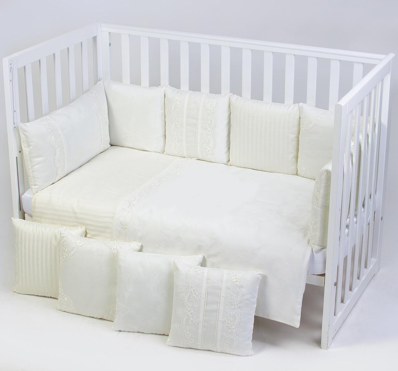 Постельный комплект для новорожденных Veres Ivory Lace