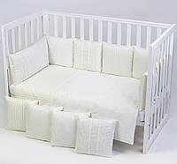 Постельный комплект для новорожденных Veres Ivory Lace, фото 1
