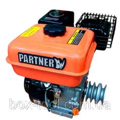 Двигатель бензиновый Partner 170F 7,0 л.с.+шкив