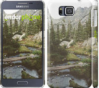 "Чехол на Samsung Galaxy Alpha G850F Природа ""2881c-65"""