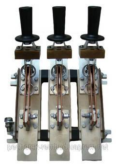 Рубильник РЕ1935  311700 250А с рукояткой для пополюсного оперирования