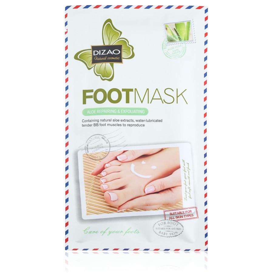 Маска-носки для ног с экстрактом алоэ (отшелушивающая, восстанавливающая) 35 g