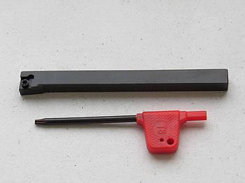 Резец проходной подрезной с мех. креплением 8х8х100 SCLCR0808H06