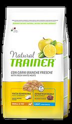TRAINER® NATURAL LIGHT MINI – полноценный рацион для взрослых собак мелких пород,склонных к набору веса 0,800