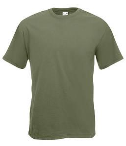 Мужская футболка Super Premium S Оливковый