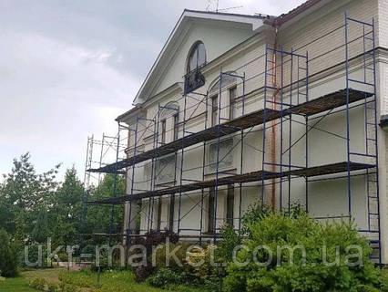 Леса строительные рамные доставка по всей Украине, фото 2