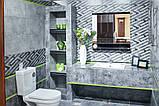 600х300 Керамическая плитка стена Нью-Йорк 1Т  серый тёмный, фото 2