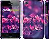 """Чохол на iPhone 3Gs Пурпурні квіти """"2719c-34"""""""