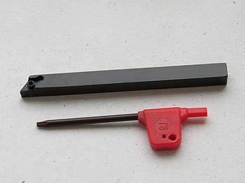 Резец проходной подрезной с мех. креплением 8х8х100 SDACR0808H07