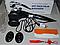 Двойной массажер с инфракрасным подогревом ударный массажер HOT PACK PALM MASSAGER, фото 2