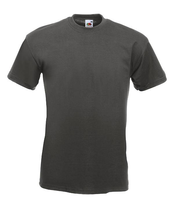 Чоловіча футболка Super Premium 2XL Світлий Графіт