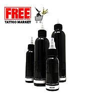 Тату краска SOLID INK BLACK LABEL Grey Wash MEDIUM 1 унц (30мл)