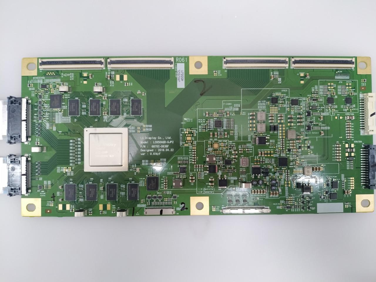 Запчасти к телевизору LG OLED55B6P (6870C-0636F, EAX66886304, EAY64389001)