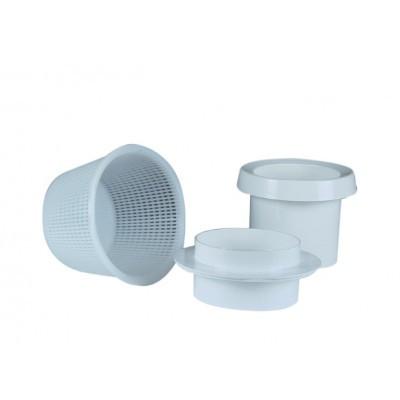 Комплект с корзиной для скиммера для бассейна Fluidra Испания 17,5 л ABS-пластик (белый)