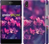 """Чохол на Sony Xperia Z2 D6502/D6503 Пурпурні квіти """"2719c-43"""""""