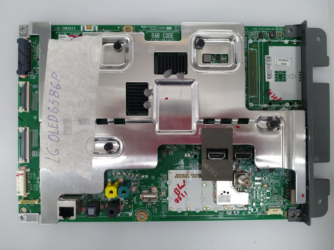 Запчасти к телевизору LG OLED65B6P (EBT64267805, EAX66886304, EAY64388901, EBR82055601)