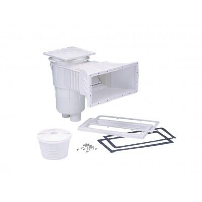 Скіммер V17,5 STANDARD для басейну Fluidra Іспанія під плівку, квадратна кришка ABS-пластик (білий)