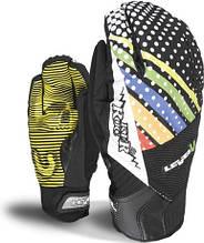 Гірськолижні рукавички чоловічі Level Grove Piperock pr Rainbow M розмір - 9 (L)