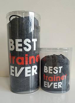 Полотенце Best trainer ever