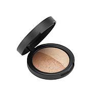 Бронзатор / Хайлайтер Aden Cosmetics Highlighter & Bronzer Duo 7 гр